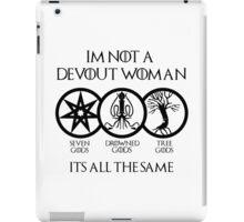 Devout Woman iPad Case/Skin