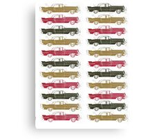 Cadillac Fleet Canvas Print