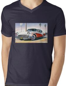 Buick Mens V-Neck T-Shirt