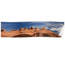 Delicate Arch-Panorama Poster