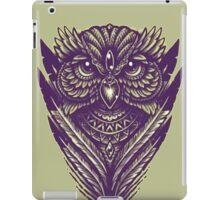 Hand Inked Night Owl Variant iPad Case/Skin