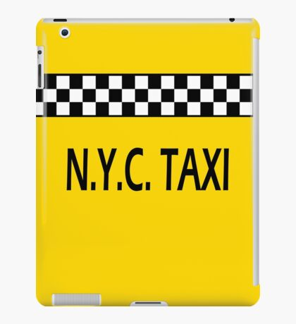 The New York City Taxi iPad Case/Skin