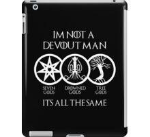 Devout Man (Dark) iPad Case/Skin