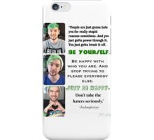 Jacksepticeye- Just Be Happy iPhone Case/Skin