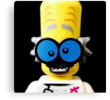 Lego Monster Scientist minifigure Canvas Print