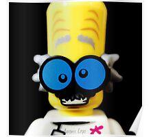 Lego Monster Scientist minifigure Poster