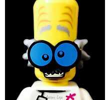 Lego Monster Scientist minifigure Photographic Print