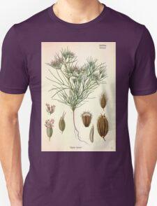 Köhler's Medizinal Pflanzen in naturgetreuen Abbildungen mit kurz erläuterndem Texte  Atlas zur Pharmacopoea 1883 1914 V3 023 Cuminum Cyminum T-Shirt