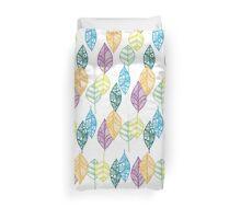 Multi-color Leaf pattern  Duvet Cover