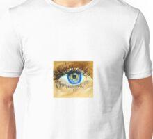 Realistic Eye Painting Unisex T-Shirt