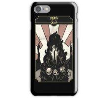 Death - Sinking Wasteland Tarot iPhone Case/Skin