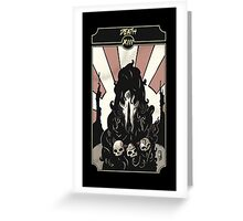 Death - Sinking Wasteland Tarot Greeting Card