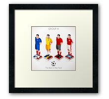 EURO 2016 Championship GROUP A Framed Print