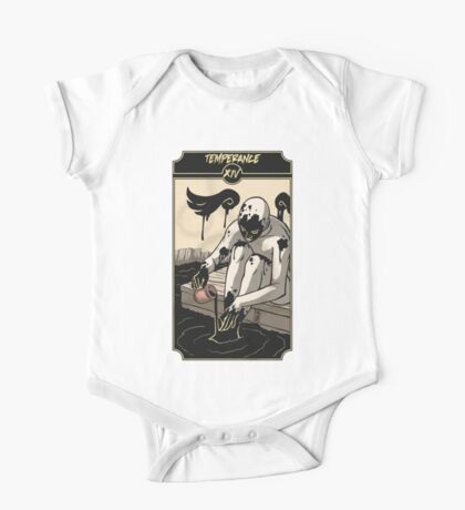 Temperance - Sinking Wasteland Tarot One Piece - Short Sleeve
