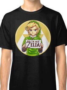 Dude, I'm Not Zelda Classic T-Shirt