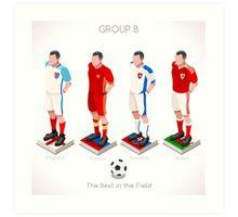 EURO 2016 Championship GROUP B Art Print