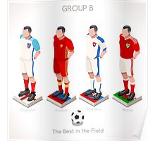 EURO 2016 Championship GROUP B Poster