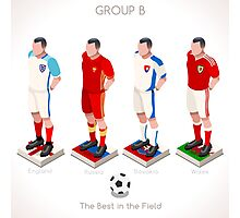UEFA EURO 2016 Championship GROUP B Photographic Print