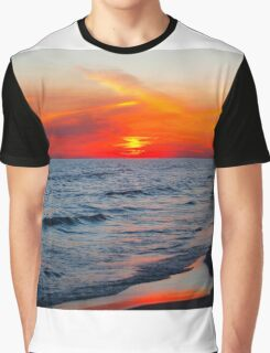 Surf & Sand & Sunset Graphic T-Shirt