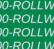 1 800 Roll Wave  Sticker