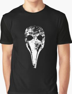 Plague Doctor's mask (Beak doctor) Graphic T-Shirt