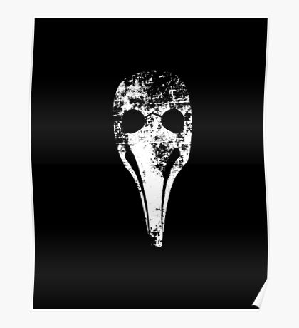 Plague Doctor's mask (Beak doctor) Poster