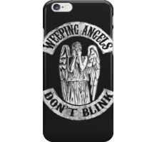 Weeping Angels Don't Blink iPhone Case/Skin