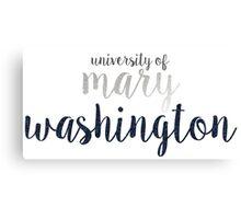 University of Mary Washington Canvas Print