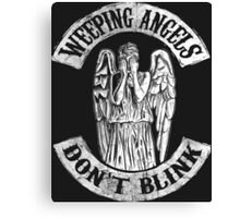 Weeping Angels Don't Blink Canvas Print