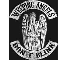 Weeping Angels Don't Blink Photographic Print