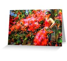 Chanteuse Greeting Card