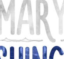 University of Mary Washington Sticker