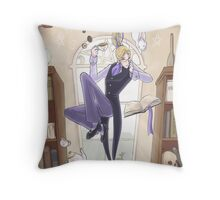 Tea and Biscuits Throw Pillow