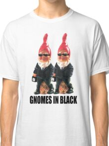 Gnomes in Black Classic T-Shirt