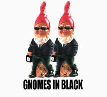 Gnomes in Black Unisex T-Shirt