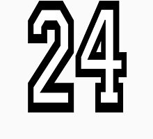 24, TEAM SPORTS, NUMBER 24, TWENTY, FOUR, Competition,  Unisex T-Shirt