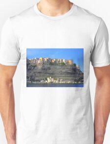 Bonifacio above the sea  Unisex T-Shirt