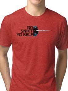 Go Snikt Yo Self Tri-blend T-Shirt