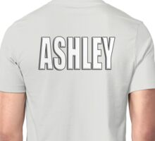 ASHLEY, Name, Tag, Ash, meadow, forest clearing, Given name Unisex T-Shirt