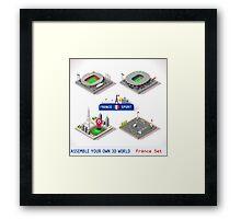 Game Set EURO 2016 France Stadium Framed Print