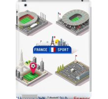 Game Set EURO 2016 France Stadium iPad Case/Skin