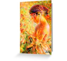 Child Bride Greeting Card