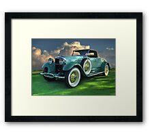 Lincoln 1930 Sport Roadster Framed Print
