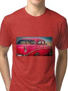 Hot Pink Granny Tri-blend T-Shirt