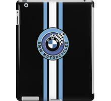 BMW Motorcycle Racing Vintage Stripe iPad Case/Skin