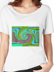 Psychedelic Swirl  Women's Relaxed Fit T-Shirt
