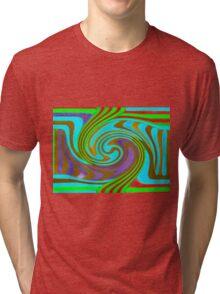 Psychedelic Swirl  Tri-blend T-Shirt