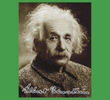 Albert, Einstein, Portrait, signature, Physicist, Genius, mathematician Kids Tee