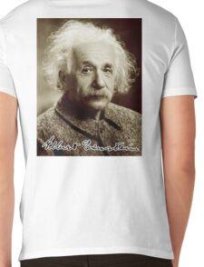 Albert, Einstein, Portrait, signature, Physicist, Genius, mathematician Mens V-Neck T-Shirt