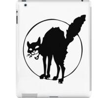 Anarchist black cat iPad Case/Skin